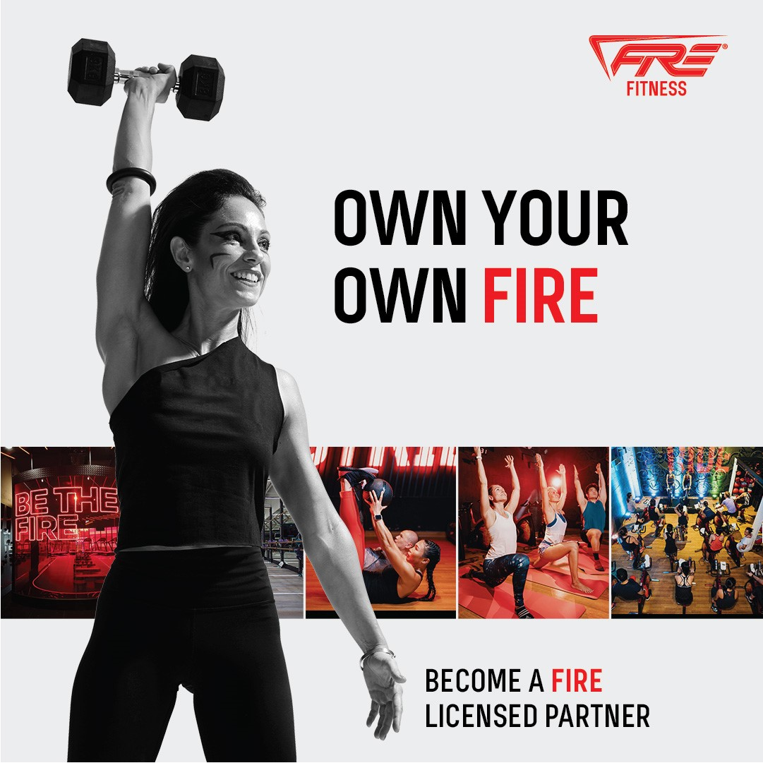 Multiple Functional Fitness Studios under one Roof! Fire Fitness Now in Australia
