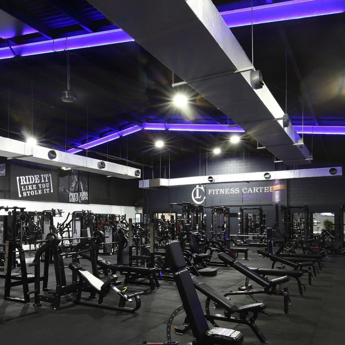 STUNNING FULL-SERVICE GYM   PRIME LOCATION   CLASS LEADING RETURNS